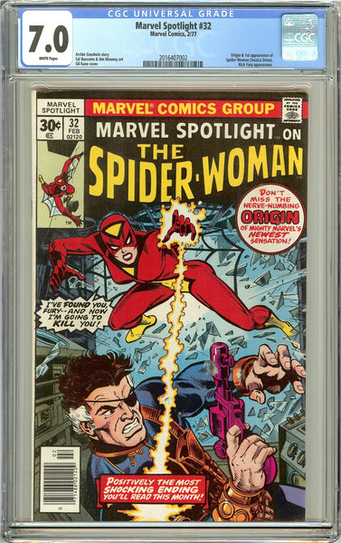 Marvel Spotlight #32 CGC 7.0 White Pages (1977) 2016407002