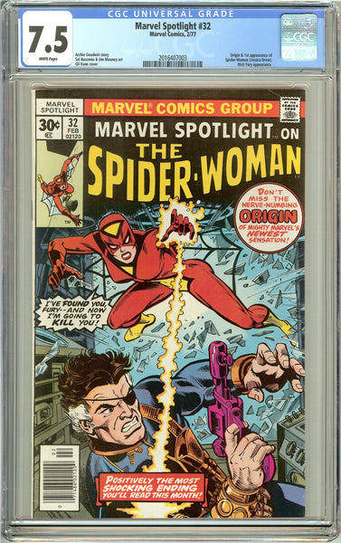 Marvel Spotlight #32 CGC 7.5 White Pages (1977) 2016407003
