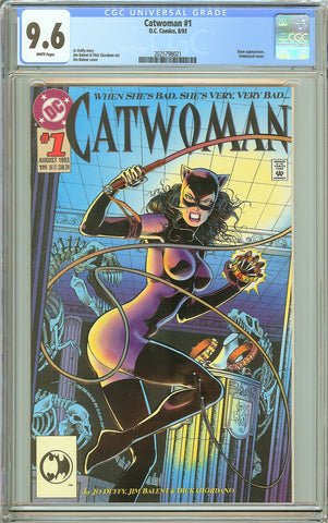 Catwoman #1 CGC 9.6 White Pages (1993) 2025798021
