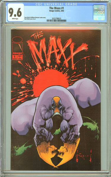 Maxx #1 CGC 9.6 White Pages (1993) 2025798025 Movie Soon!