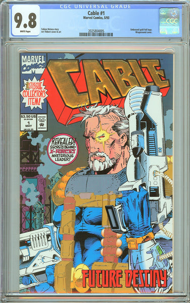 Cable #1 CGC 9.8 White Pages (1993) 2025804005