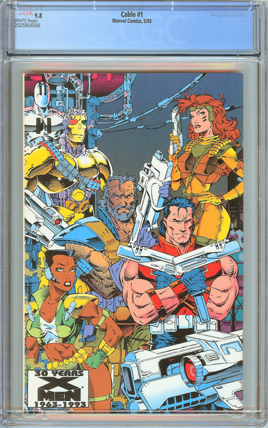 Cable #1 CGC 9.8 White Pages (1993) 2025804006