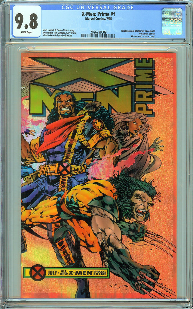 X-Men Prime #1 CGC 9.8 White Pages (1995) 2026290009