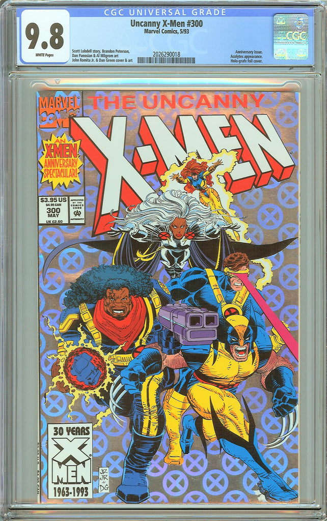 Uncanny X-Men #300 CGC 9.8 White Pages (1993) 2026290018