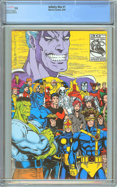 Infinity War #1 CGC 9.8 White Pages (1992) 2026293002