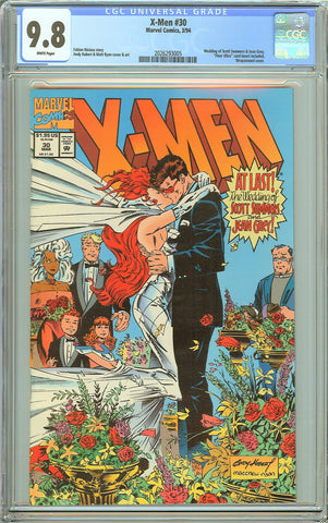 X-Men #30 CGC 9.8 White Pages (1994) 2026293005 Wedding