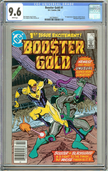 Booster Gold #1 CGC 9.6 White Pages (1986) 2027840011