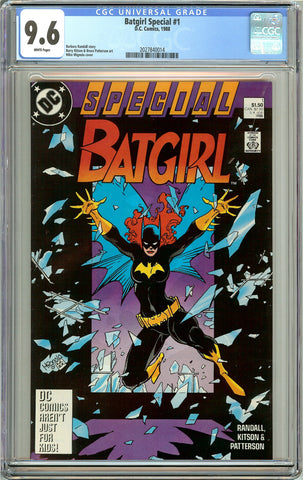 Batgirl Special #1 CGC 9.6 White Pages (1988) 2027840014