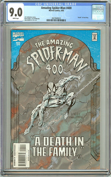 Amazing Spider-Man #400 CGC 9.0 White Pages (1995) 2027840023