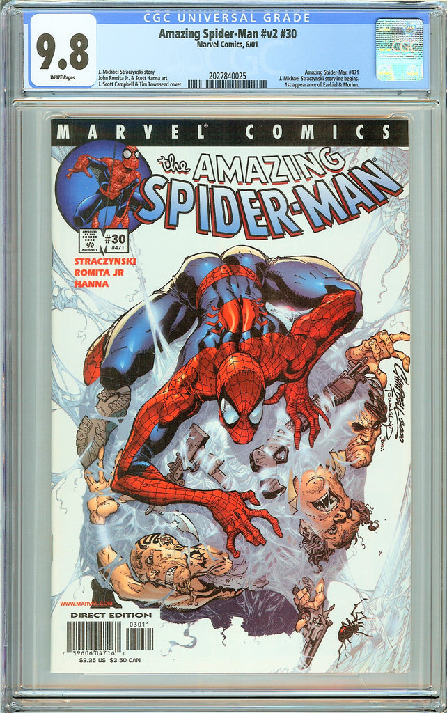 Amazing Spider-Man #v2 #30 CGC 9.8 White Pages 2027840025