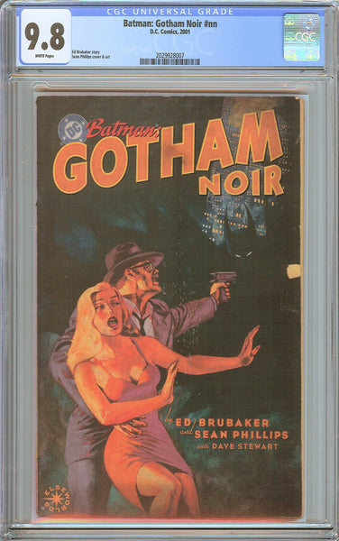 Batman: Gotham Noir #nn CGC 9.8 White Pages (2001) 2029928007