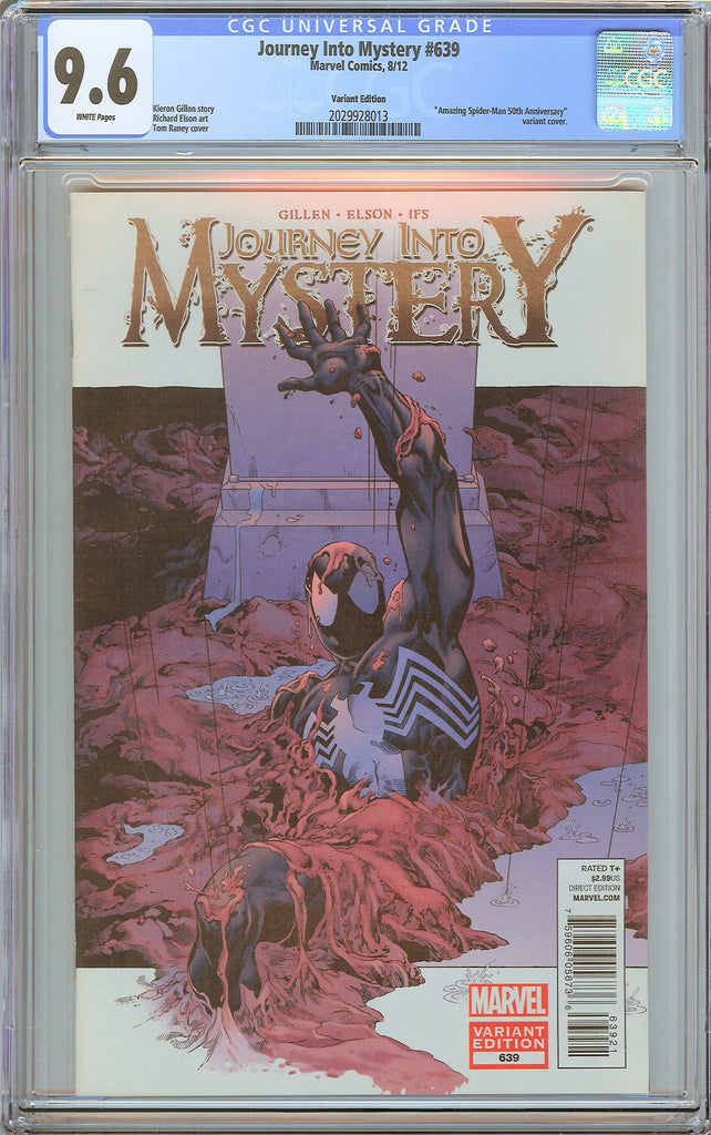 Journey Into Mystery #639 CGC 9.6 White Pages 2029928013 Variant Edition