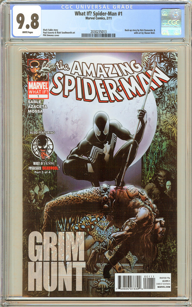 What If? Spider-Man #1 CGC 9.8 White Pages 2030235013