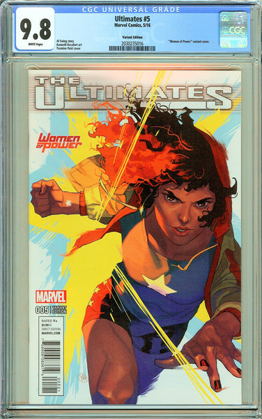 Ultimates #5 CGC 9.8 White Pages 2030235016 Variant Edition