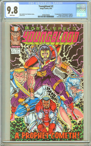 Youngblood #2 CGC 9.8 White Pages (1992) 2030235025