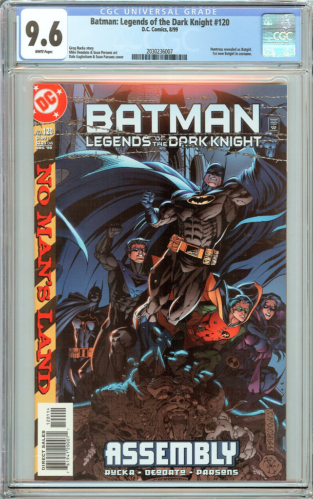 Batman Legends of the Dark Knight #120 CGC 9.6 White Pages 2030236007