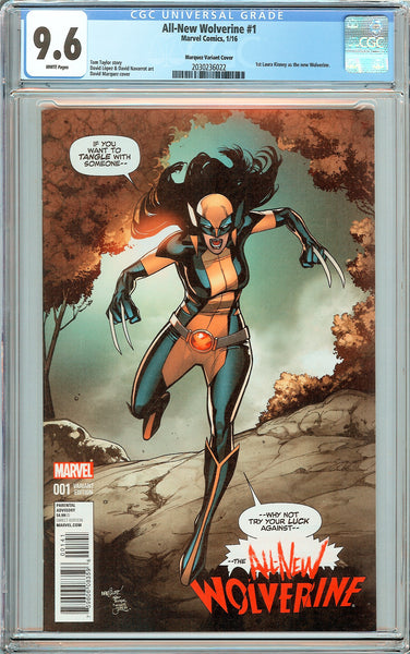 All-New Wolverine #1 CGC 9.6 White Pages 2030236022 Marquez Variant