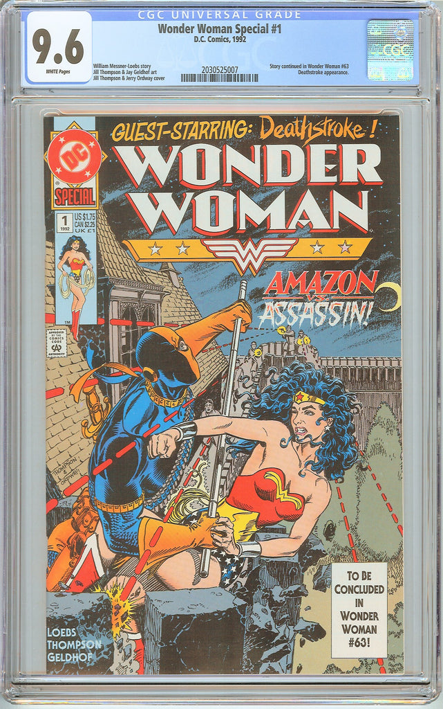 Wonder Woman Special #1 CGC 9.6 White Pages 2030525007