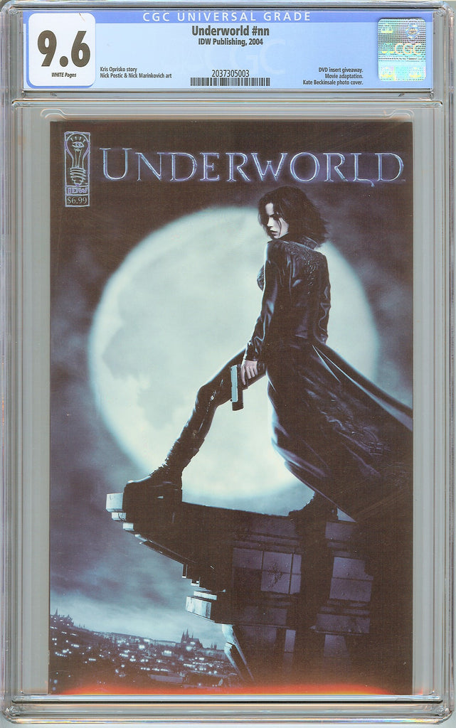 Underworld #nn CGC 9.6 White Pages 2037305003