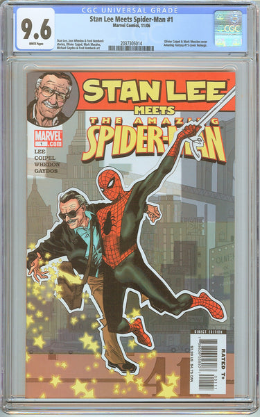 Stan Lee Meets Spider-Man #1 (2006) CGC 9.6 White Pages 2037305014