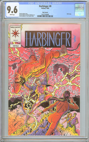 Harbinger #0 CGC 9.6 White Pages (1992) 2037336006 Mail-away
