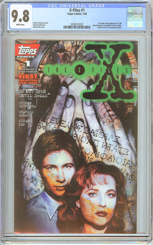 X-Files #1 Topps Comics (1995) CGC 9.8 White Pages 2038157022