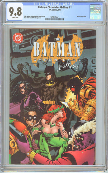 Batman Chronicles Gallery #1 CGC 9.8 White Pages 2038160021 Wraparound Cover