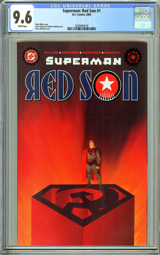 Superman Red Son #1 CGC 9.6 White Pages (2003) 2039484018