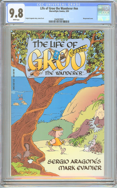 Life of Groo the Wanderer #nn CGC 9.8 White Pages (1993) 2040829001