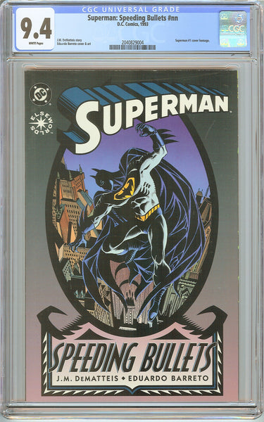 Superman Speeding Bullets CGC 9.4 White Pages (1993) 2040829004