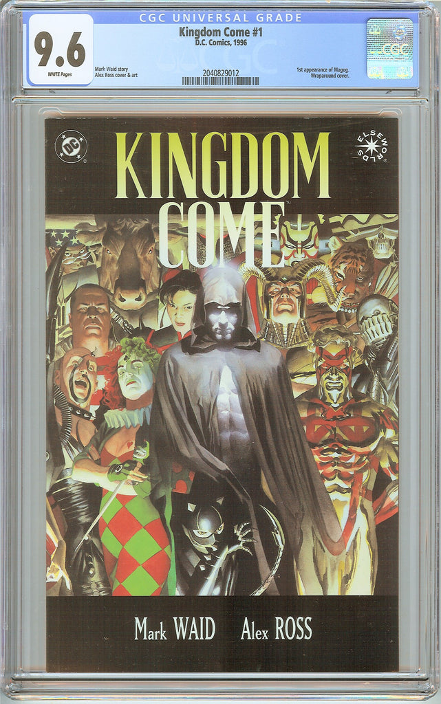 Kingdom Come #1 CGC 9.6 White Pages (1996) 2040829012