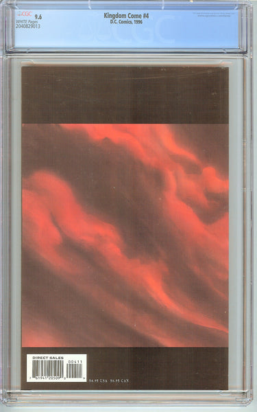 Kingdom Come #4 CGC 9.6 White Pages (1996) 2040829013