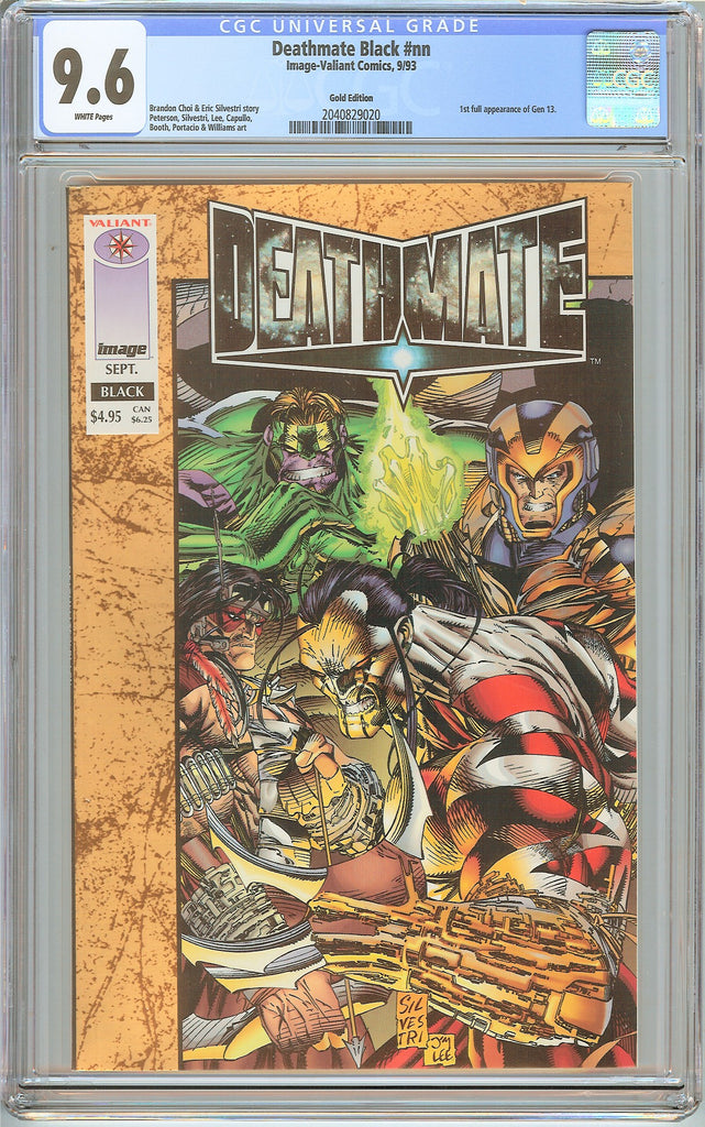 Deathmate Black CGC 9.6 White Pages (1993) 2040829020 Gold Edition