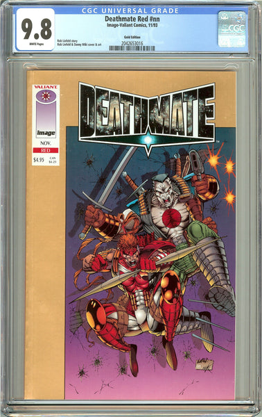 Deathmate Red CGC 9.8 White Pages (1993) 2042653016 Gold Edition