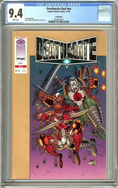 Deathmate Red CGC 9.4 White Pages (1993) 2042653017 Gold Edition