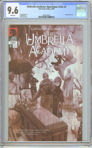 Umbrella Academy: Apocalypse Suite #2 CGC 9.6 White Pages 2043776010