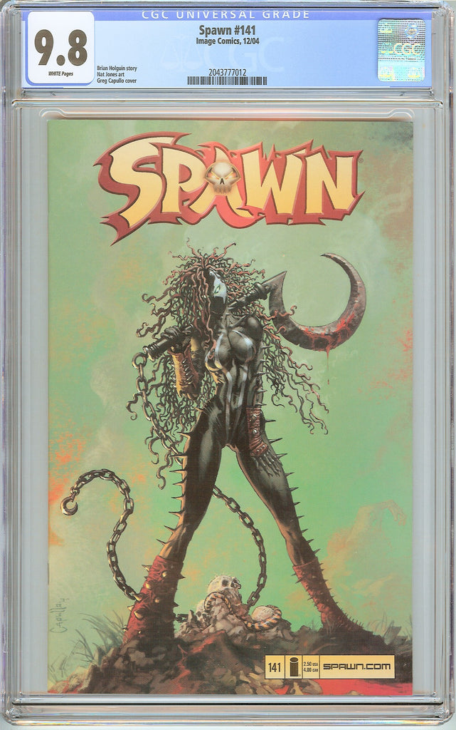 Spawn #141 CGC 9.8 White Pages (2004) 2043777012