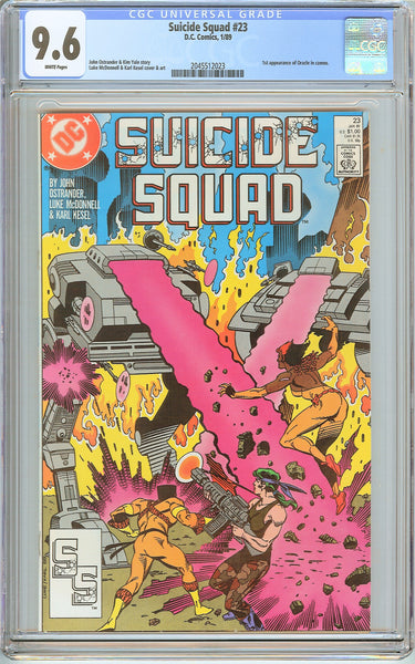 Suicide Squad #23 CGC 9.6 White Pages (1989) 2045512023 1st Oracle in cameo