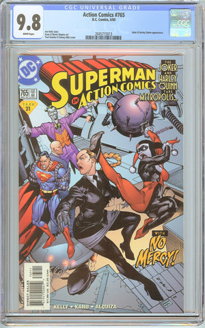 Action Comics #765 CGC 9.8 White Pages (2000) 2045715013 Harley Quinn