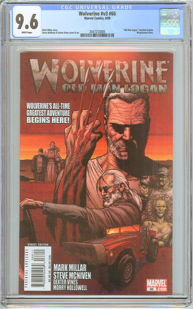 Wolverine #v3 #66 CGC 9.6 White Pages 2047253005