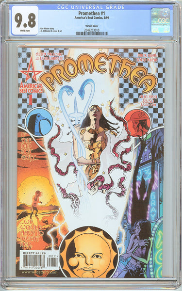 Promethea #1 CGC 9.8 White Pages (1999) 2047253010 Variant Cover