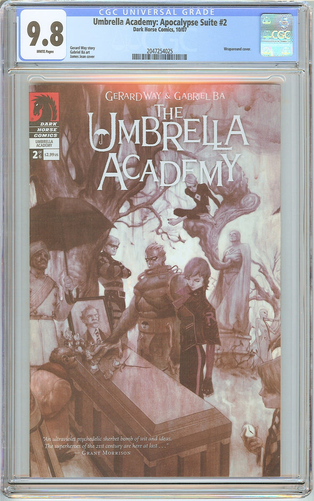 Umbrella Academy: Apocalypse Suite #2 CGC 9.8 White Pages 2047254025