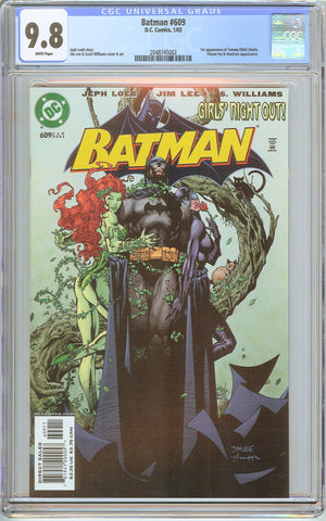 Batman # 609 CGC 9.8 White Pages (2003) 2048745002