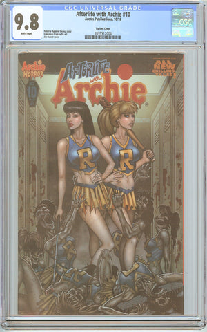 Afterlife with Archie #10 CGC 9.8 White Pages (2016) 2055512004 Variant Cover
