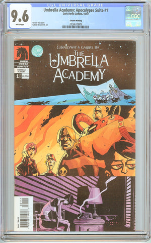 Umbrella Academy: Apocalypse Suite #1 CGC 9.6 White Pages 2058679009 2nd Print
