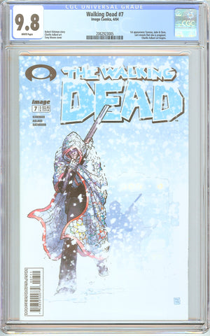 Walking Dead #7 CGC 9.8 White Pages 2062923005