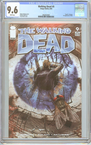 Walking Dead #9 CGC 9.6 White Pages 2062923007