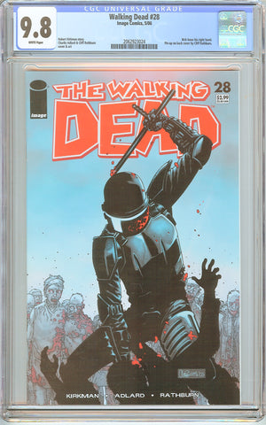 Walking Dead #28 CGC 9.8 White Pages 2062923024