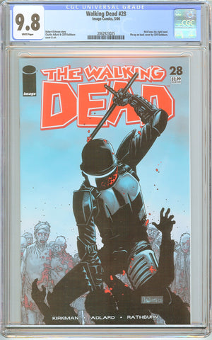 Walking Dead #28 CGC 9.8 White Pages 2062923025