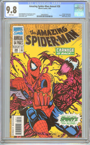Amazing Spider-Man Annual #28 CGC 9.8 White Pages (1994) 2064582015
